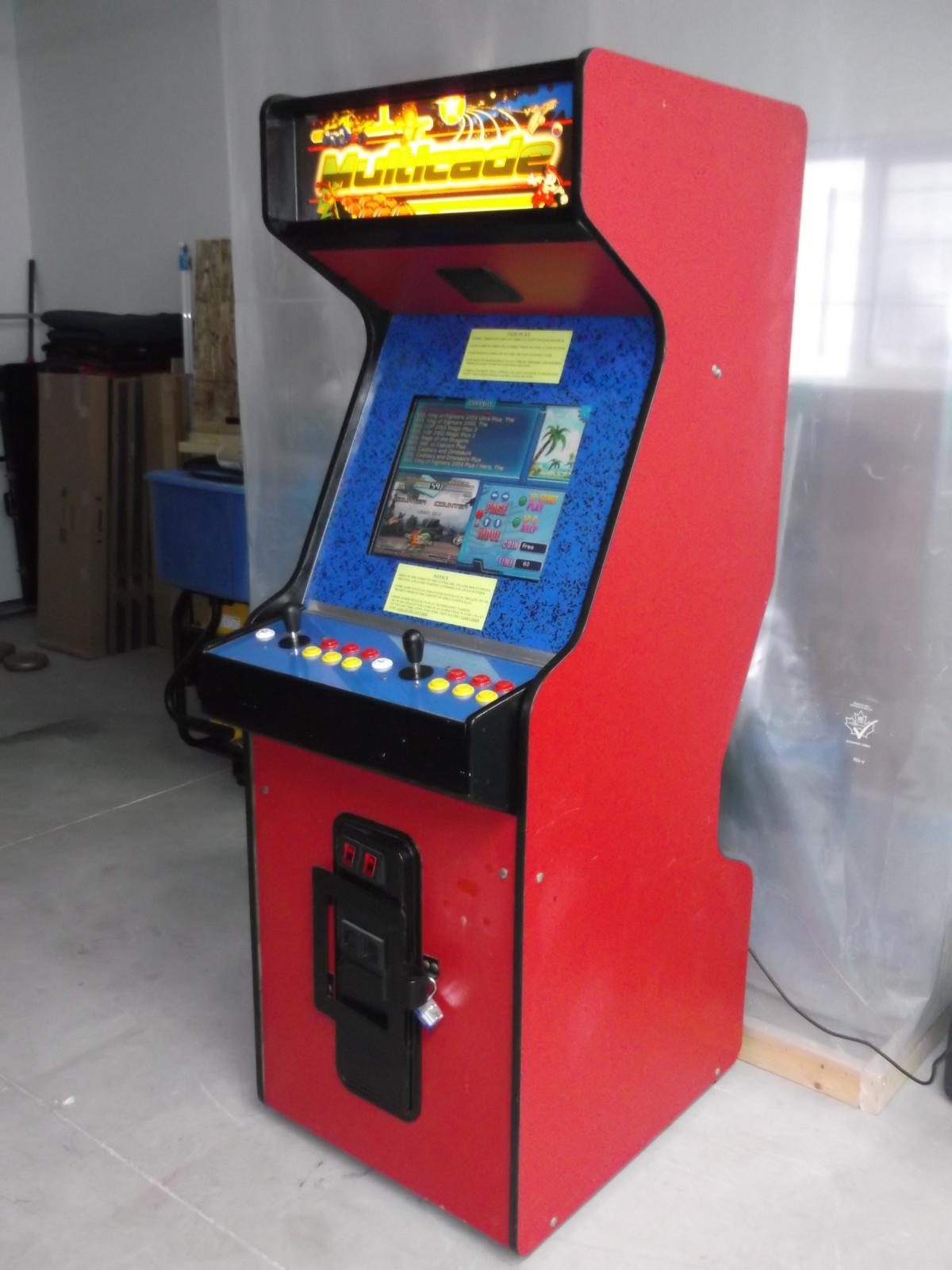 Arcade Classics Game Elf 621 Games In 1 Home Multicade Classiscade