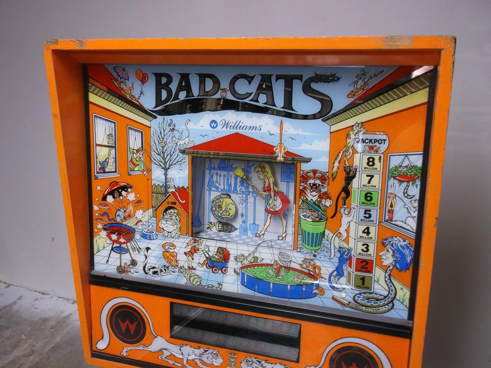 Bad Cats Pinball - Williams 1989