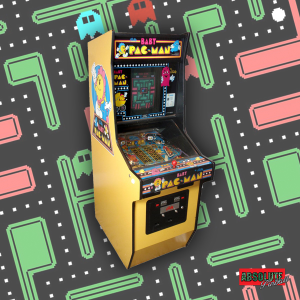 1982 Bally Baby Pac-Man Pinball