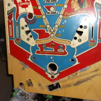 Stripped Down Pinball Playfield
