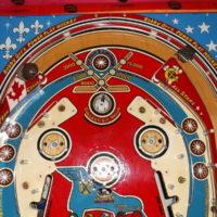 Pinball Playfield Topside