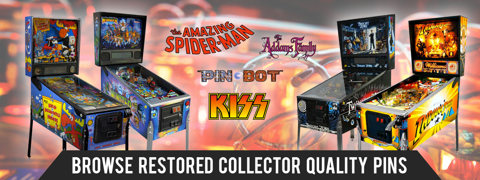 Restored Collector Quality Pinball Machines Absolute Pinball