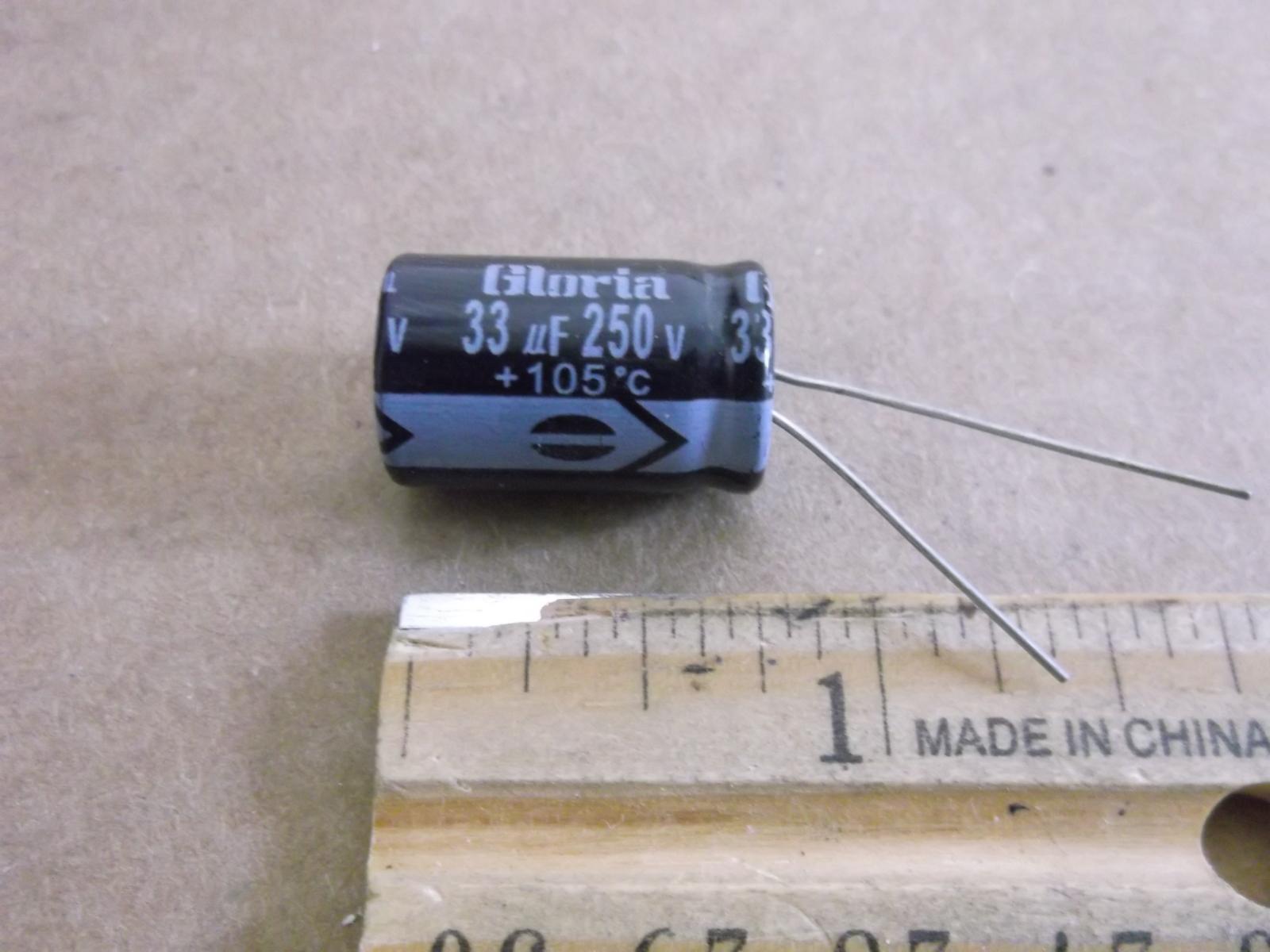 33UF @ 250 Volt Capacitor