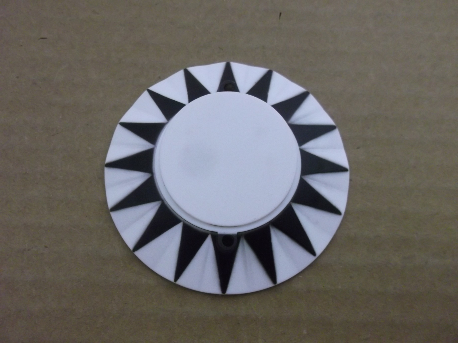 Bally space invaders Pinball Machine POP BUMPER CAP SET