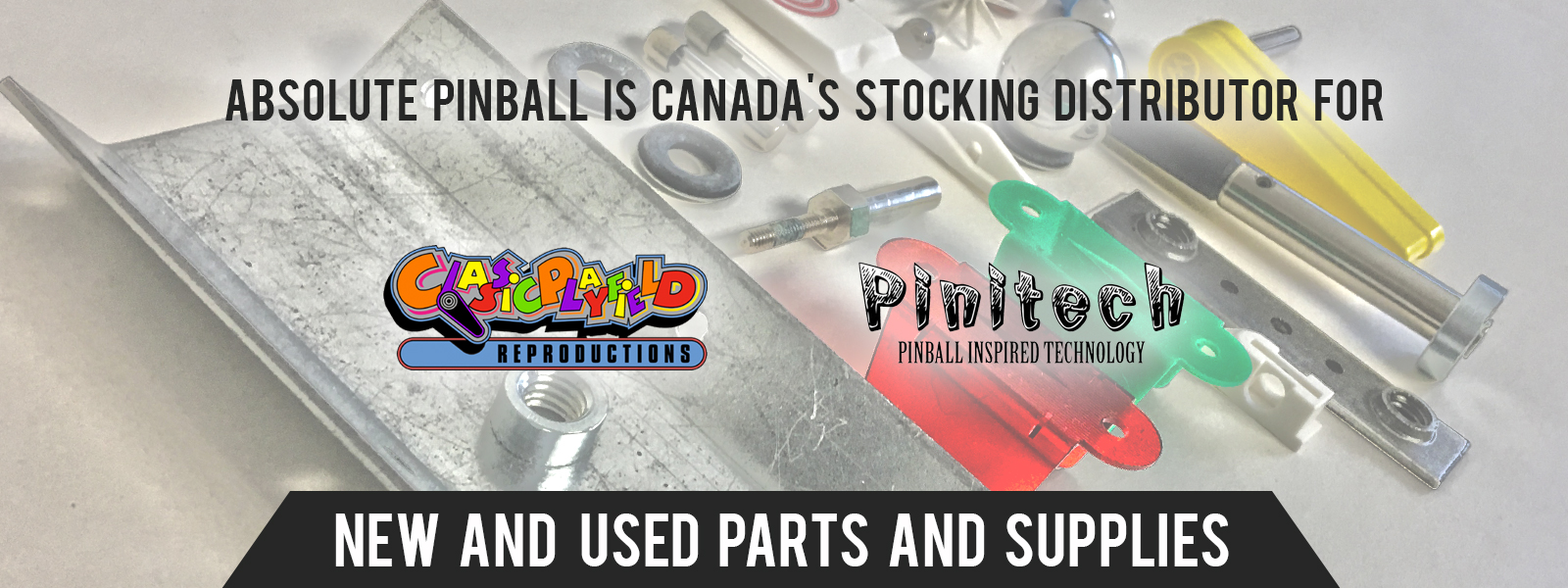 Absolute Pinball New And Used Parts
