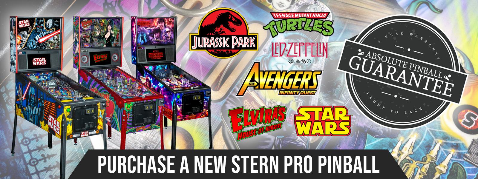 Stern Pro Pinball Purchase Absolute Pinball